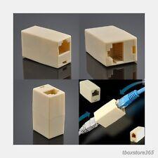 Cat5e Rj45 Lan Network Ethernet Cable Extender Adapter Coupler Inline Joiner US