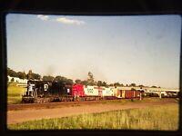 ZQ01 TRAIN SLIDE Railroad Short Line EMD SD35 1557 Mississippi St MN 1989