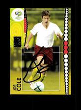 Joe Cole England Panini Card WM 2006 Original Signiert+ A 158173