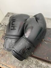 Venum Boxing Gloves - Black/Black - 16 Oz