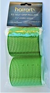HAIR ROLLERS  E-Z SELF GRIPPING (PICK COLOR & SIZE) by Hair Art -- FREE SHIPPING