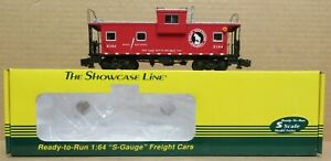 S-Helper 01269 Great Northern Extended Vision Caboose #104 S-Gauge/Scale NIB