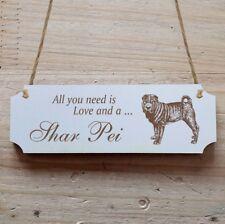 Türschild Dekoschild « Shar Pei » Hund