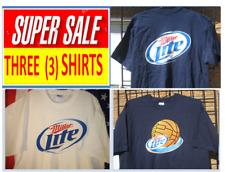 a5a07a8fefdb4 (XL)  Super DEAL Special   3 SHIRT   MILLER LITE Beer T Shirt