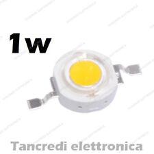 Chip led 1W bianco caldo 350mA 3V 3.6V alta luminosità lampadina lampada bulb