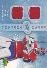 07-08 UD Ice Fresh Threads Carey Price RC