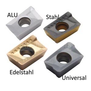 10 x APKT... Wendeschneidplatten für ALU, Stahl oder Edelstahlbearbeitung!!