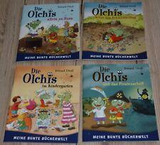 4 x Die Olchis von Erhard Dietl - Meine bunte Bücherwelt - Top-Zustand!!
