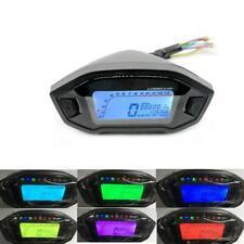 LCD Digital Backlight Motorcycle Odometer Speedometer Tachometer Gauge Pro YU@