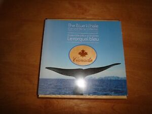 canada the blue whale coin and stamp collection