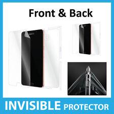 Samsung Galaxy A9 (2016) Protector Pantalla INVISIBLE Completo FRONTAL Y TRASERO