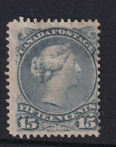 CANADA QV Stamp SG.69 15c Slaty Blue - mounted mint