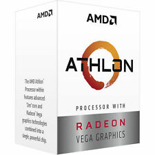 AMD Athlon 3000G Raven Ridge 3.5GHz 5MB Cache L3 AM4 CPU Processor Processor