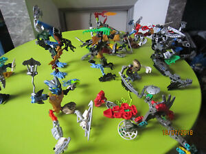 LEGO Bionicle gros lot!!!!!