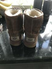 Genuine Ugg Boots Tan Size 8