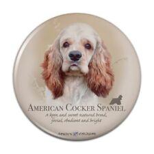 American Cocker Spaniel Dog Breed Pinback Button Pin