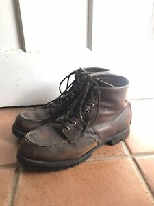 red wing 6 Inch Moc Toe
