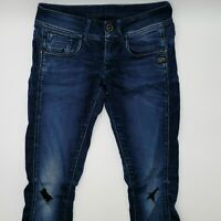 G-Star Midge Cody Skinny WMN 60537 W27 L32 blau Designer Denim Damen Jeans Hose