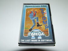 STOMP by OMEGA for ZX SPECTRUM 48K RARE! COMPLETE & EXCELLENT CONDITION!