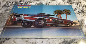 Mr Norm Grand Spaulding 1968 Dodge Charger Funny Car Magazine Poster Ad Original
