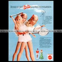 Mattel Vintage BARBIE 'Tennis & Golf' - 1975 Pub / Publicité / Ad #A178