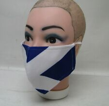 Scottish Flag Saltire Face Mask cover re-usable Washable