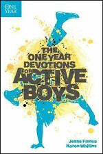 The One Year Devotions for Active Boys, Florea, Jesse, Whiting, Karen, Good Book