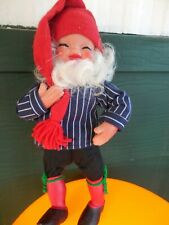 Vintage Nordic Folklore  Nisse Doll -Arne Hasle - Askim Norge