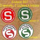 Patch Ecusson SST 2 versions 2 couleurs 4 fintions