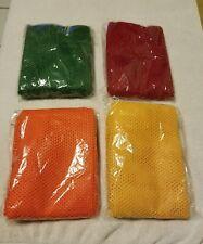(4) Mesh Bags for Sport Balls Basketball/Soccer/Football/Baseball (NIP)