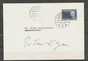 GREENLAND - Letter. See items description. NEW PRICE