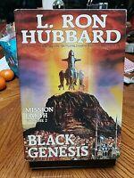 BLACK GENESIS Mission Earth V2 L RON HUBBARD hcdj 1986 1st/2nd GERRY GRACE