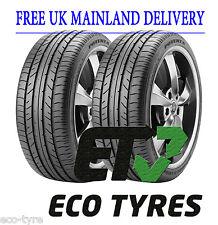 2X tyres 245 45 R18 96W Bridegstone Potenza RE040 RFT Run Flat F C71dB
