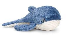 Keel Toys Wild - 35cm Blue Whale Cuddly Soft Toy Plush /Teddy SW0762