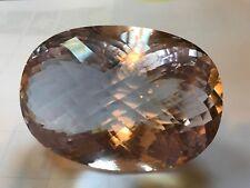 Natural Morganite Gemstone, very large piece, rarely found
