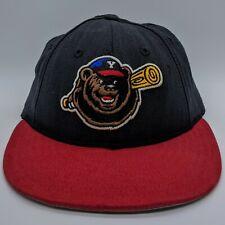 vtg NEW ERA Yakima Bears MiLB Logo Hat 59FIFTY Fitted Cap 7 1/2 Black Made USA