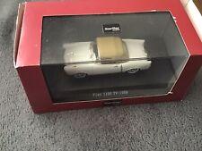 basamento T34Z STARLINE FIAT 1100 modello di auto blu 1:43 Taglia 4 DR Berlina
