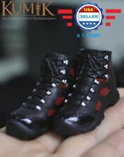 "KUMIK 1/6 scale Sneakers Shoes HOLLOW for 12"" Male Action Figure"