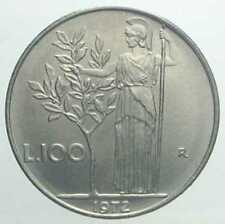 REPUBBLICA ITALIANA - RARA MONETA DA 100 LIRE - 1972