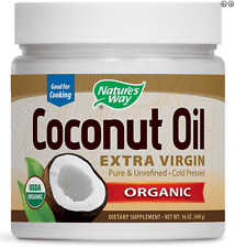 NEW NATURE'S WAY ORGANIC COCONUT OIL FOOD GROCERIES POWDER EXTRA VIRGIN ENERGY