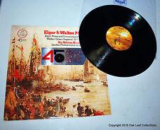 45 RPM Audiophile Elgar Pomp & Circumstance  Walton Crown Imperial Boult
