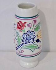 Poole Pottery Traditional Floral Vase BN Pattern #15 Vintage Made in England