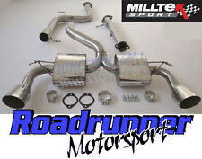 "Focus RS MK2 Milltek Gato De Escape Acero Inoxidable 3"" sistema de respaldo no Res & De Tubo De Gato"