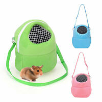 Hamster Travel Bag Pet Outdoor Carrier Gerbil Mice Hedgehog Small Animals Supply