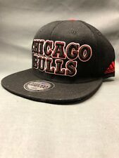 official photos 758ee c1b89 adidas Chicago Bulls 2013 NBA Draft Cap Snapback Black Red One Size Adult