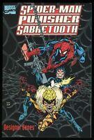 Spider-Man Punisher Sabretooth Designer Genes Graphic Novel Trade Paperback TPB