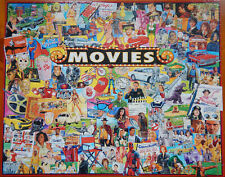 Movies Films Hollywood 1000 Pc Jigsaw Puzzle White Mountain Kids Family Teens