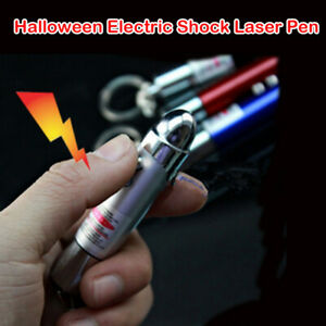 5mW Electric Shock Laser Pen Toy Prank Joke Trick Get ZZamm Novelty Gag Gift