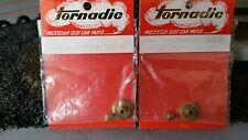 TORNADIC Slot Car  Double Bevel Gear Set 4:1 & 3.5:1 1/8th Set Screw