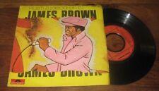 JAMES BROWN - Hustle (Dead On It) French PS 7' Soul Funk 75'